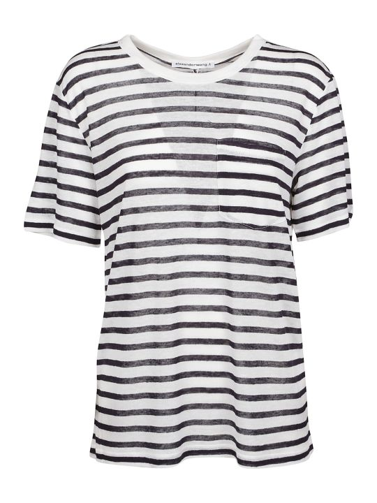 Alexander Wang Striped T-shirt