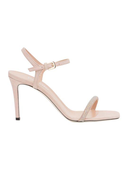 Pollini Sandal With Swarosky Embellishment