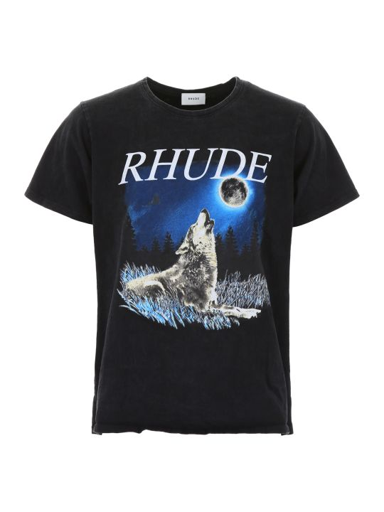 Rhude Wolf The Moon T-shirt