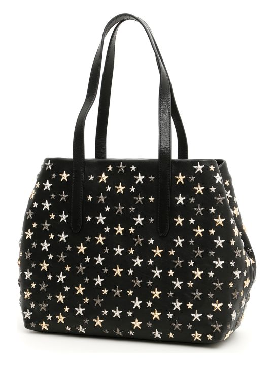 Jimmy Choo Shopping Bag With Stars Sofia M