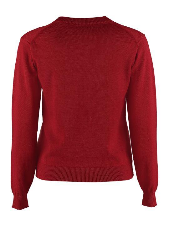 Maison Labiche Sisterhood Crew-neck Wool Sweater