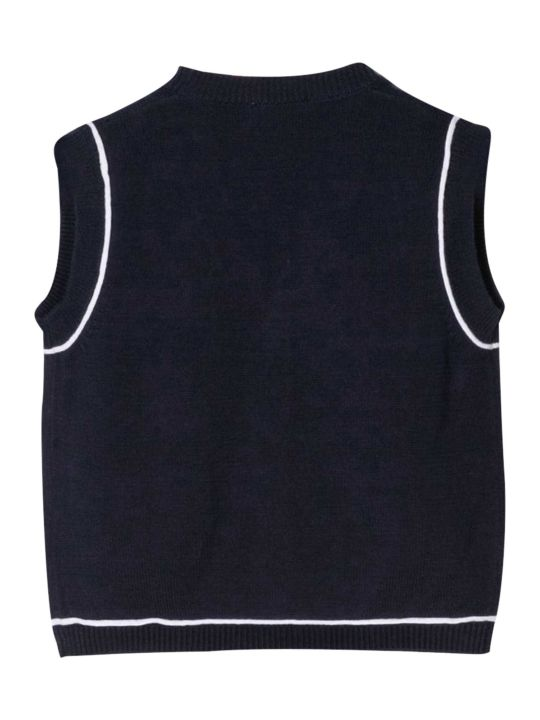 Il Gufo Line-detailed Vest