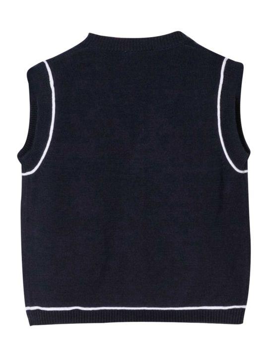 Il Gufo Line-detailed Vest
