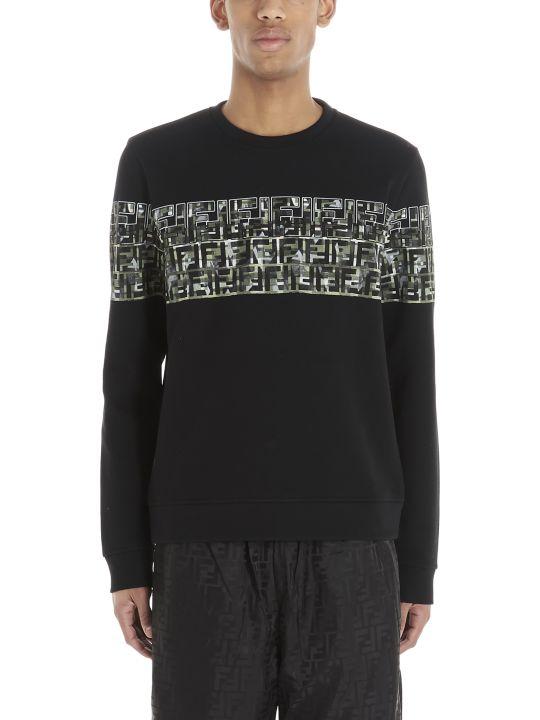 Fendi 'ff Camouflage' Sweatshirt