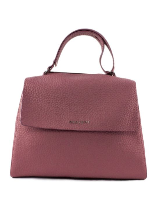 Orciani Pink Leather Sveva Bag