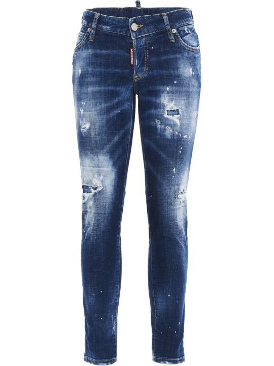 Dsquared2 'jennifer Cropped' Jeans
