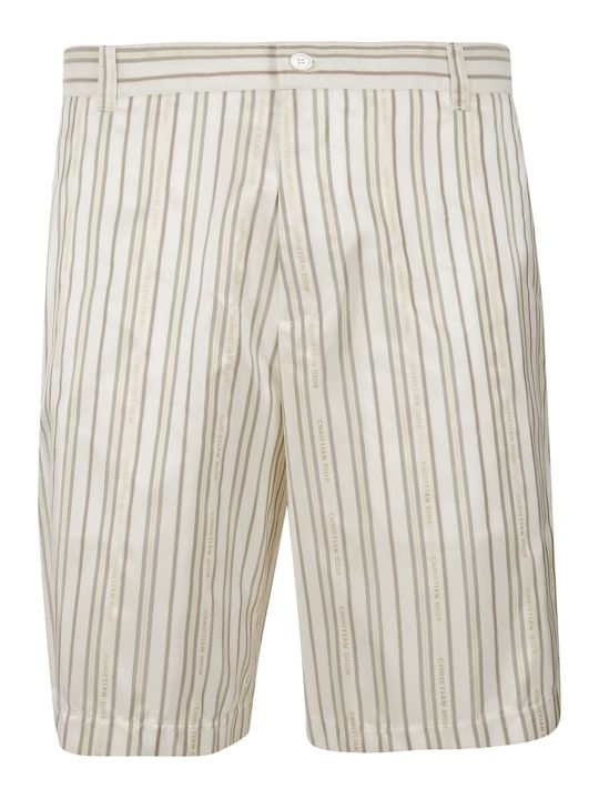 Dior Homme Striped Shorts
