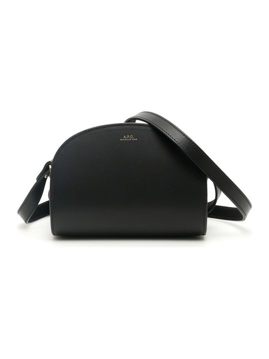 A.P.C. Demi Lune Crossbody Mini Bag