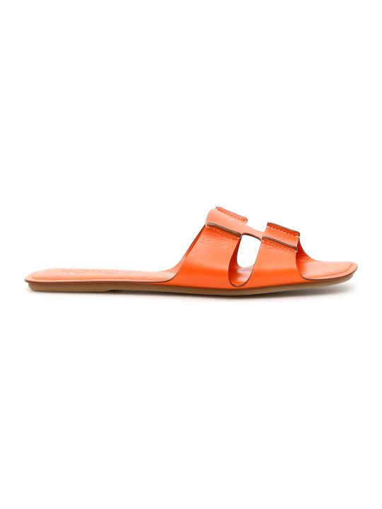 Rodo Leather Slides