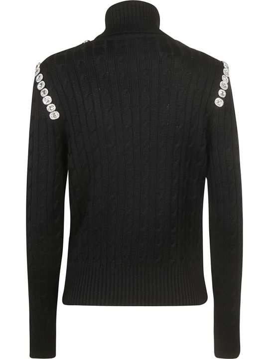 Giuseppe di Morabito Roll Neck Embellished Sweater