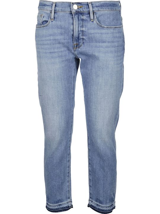 Frame Blue Cotton Jeans