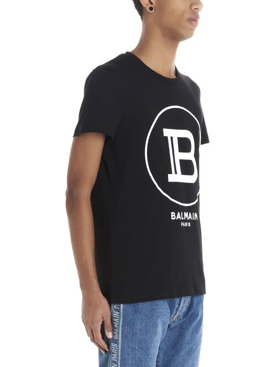 Balmain 'flock Balmain' T-shirt