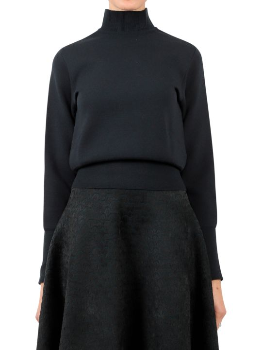 Alaia Green Turtleneck