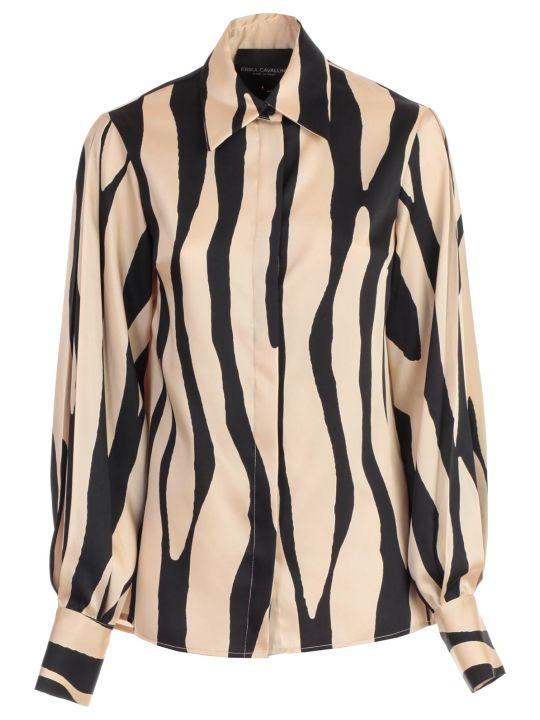 SEMICOUTURE Shirt Vicky Zebra Fantasy