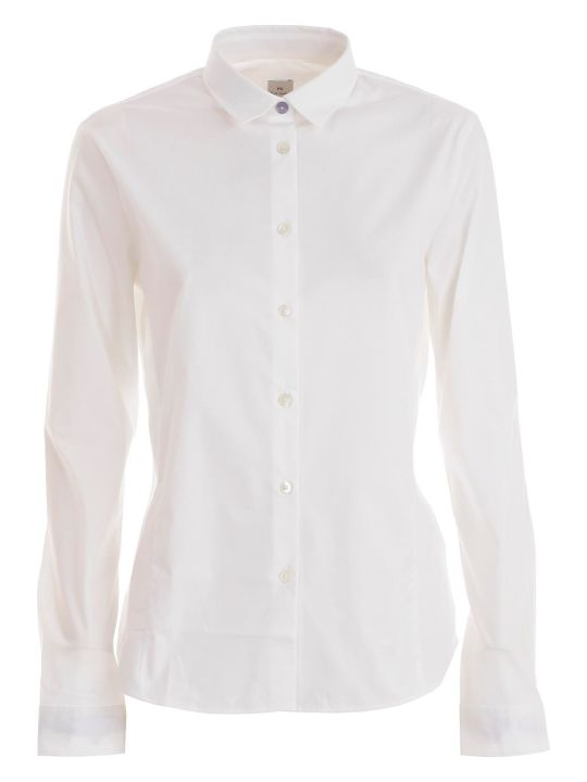 PS by Paul Smith Curved Hem Shirt