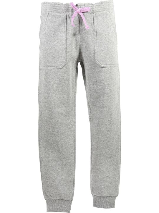 Chloé Marled Grey Cotton Sweatpants