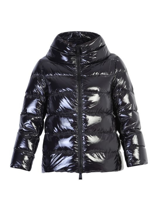 Herno Black Zipped Padded Jacket