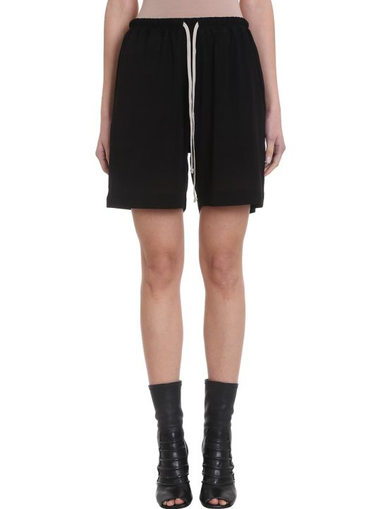 Rick Owens Boxer Relaxed-fit Viscose Shorts