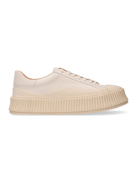 Jil Sander Leather Chunky Sneakers