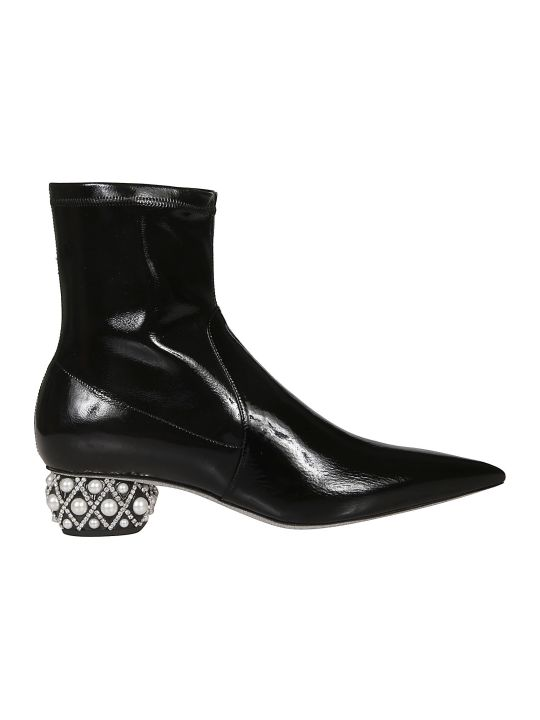 René Caovilla Embellished Boots