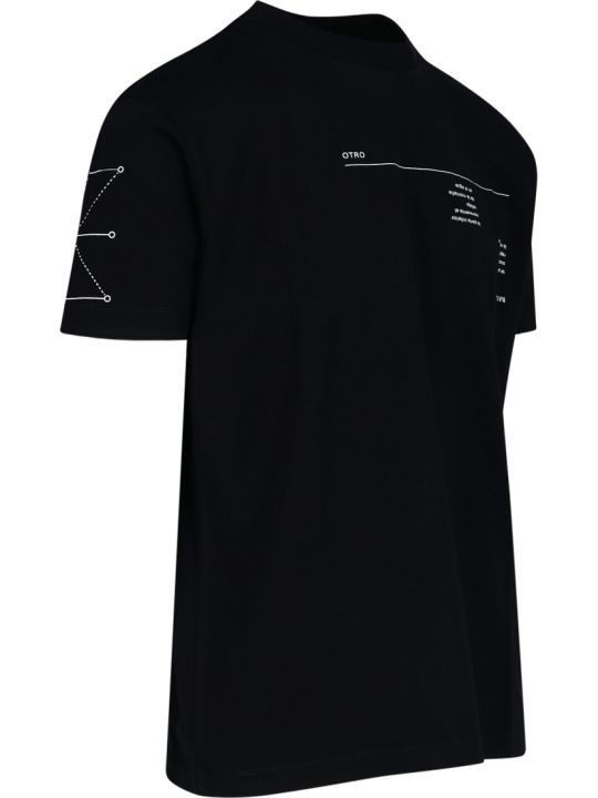Marcelo Burlon Graphic Abstract Print T-shirt