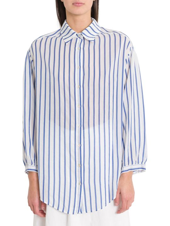 Forte_Forte Oversized Shirt With Stripes Motif