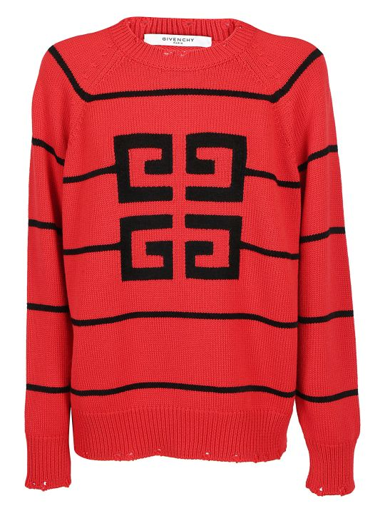Givenchy Jacquard Logo Sweater