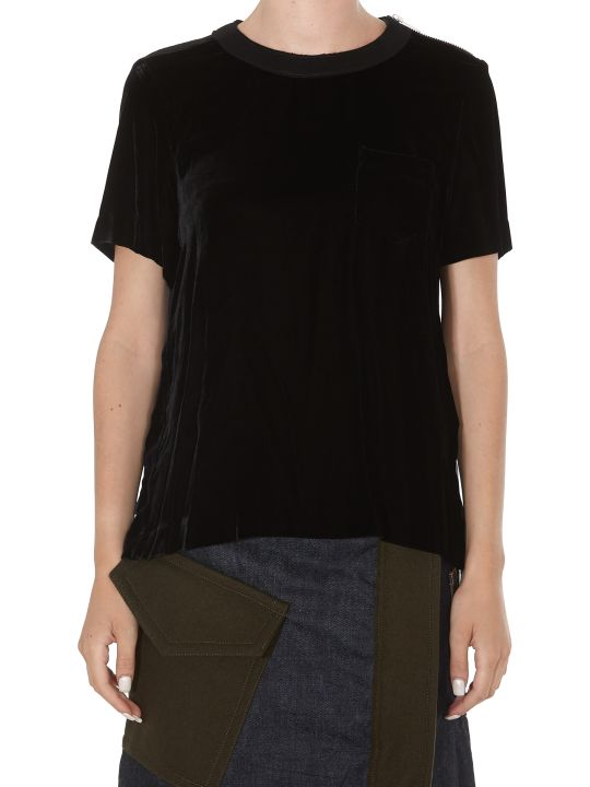 Sacai Blanket Printed Top