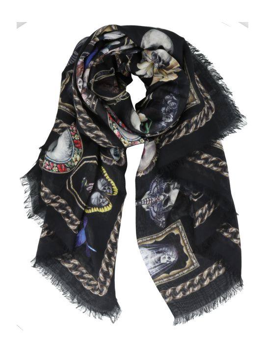 Alexander McQueen Cameo And Curiosity Scarf