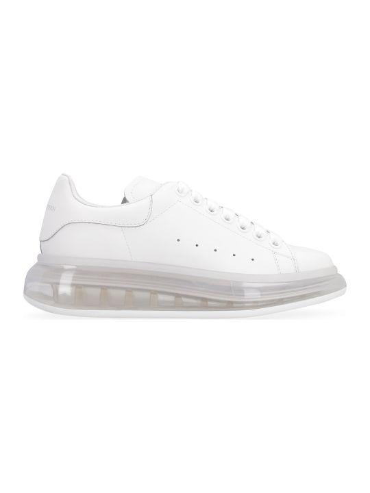Alexander McQueen Larry Leather Low-top Sneakers