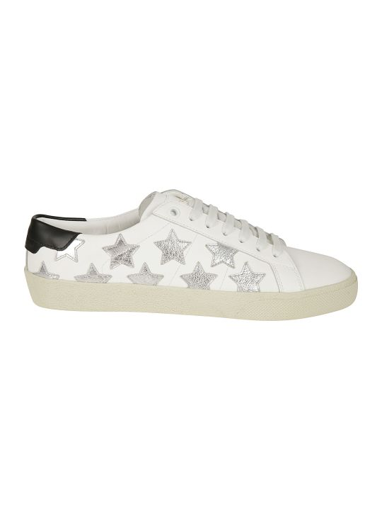 Saint Laurent Patch Sneakers