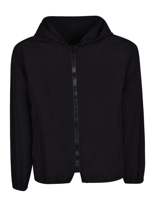 MSGM Logo Print Hooded Jacket
