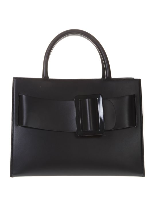 BOYY Bobby Black Leather Tote Bag