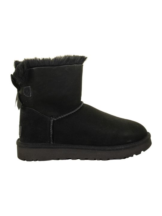 UGG Mini Bailey Bow Ii Black Boots