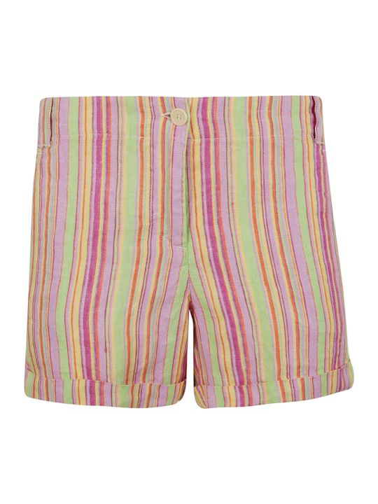 Aspesi Striped Shorts
