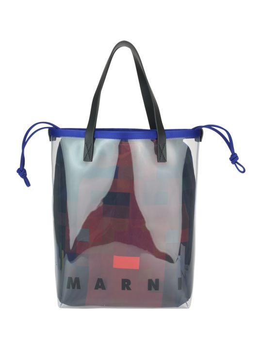 Marni Glossy Grip Tote Bag