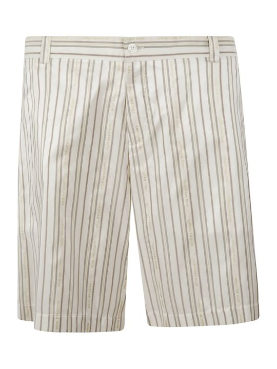 Christian Dior Striped Shorts