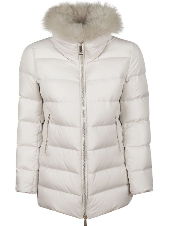 Moorer Fur Padded Jacket