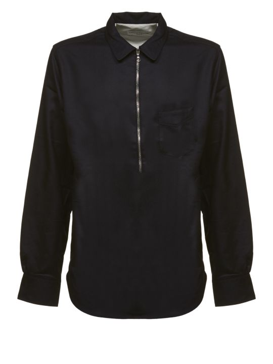 Officine Générale Officine Generale Zipped Shirt