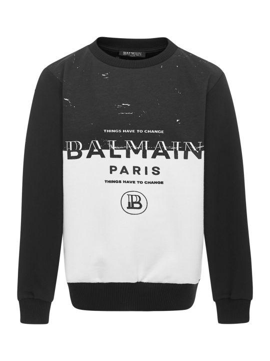 Balmain Paris Kids Sweatshirt