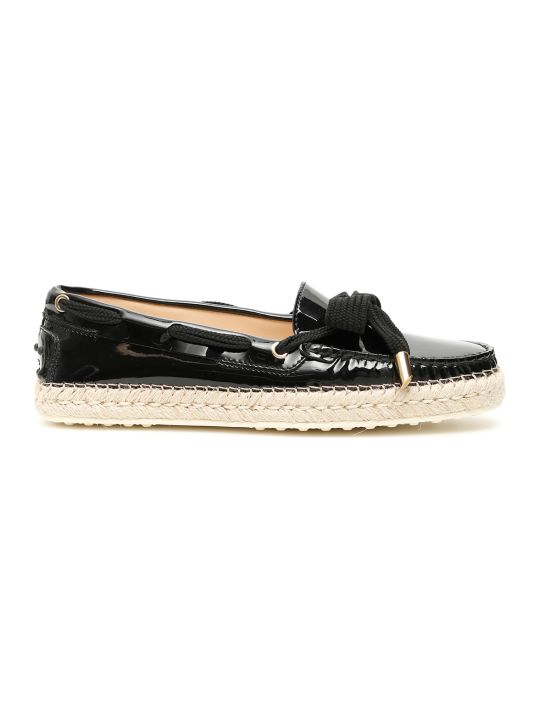 Tod's Gommino Rafia Loafers