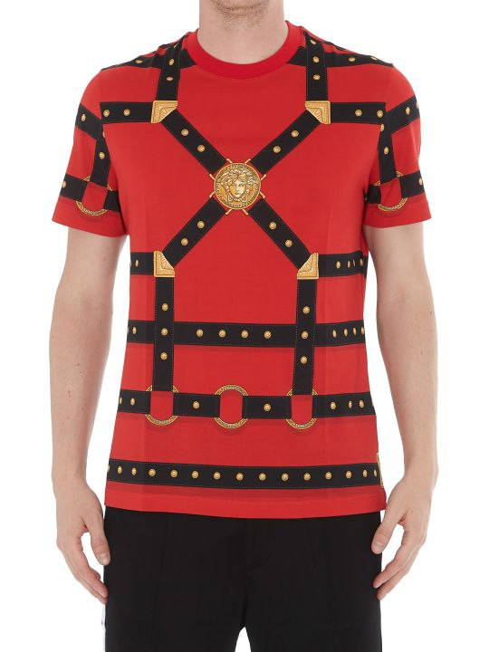 Versace Patterned Logo T-shirt