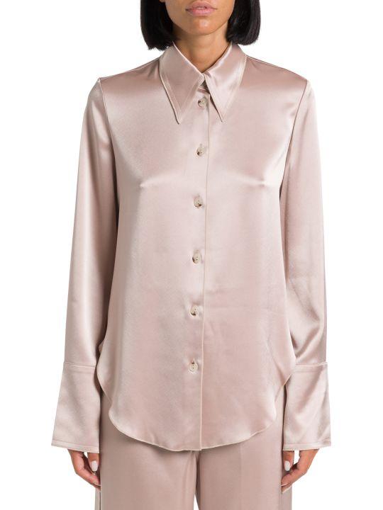 Nanushka Satin Slip Shirt