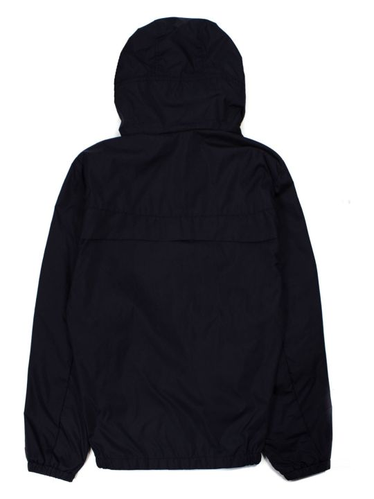 Moncler Navy  Zipped Hooded Jacket