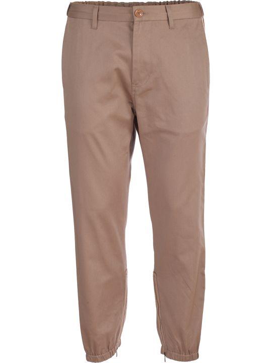 Gucci Khaki cotton trousers