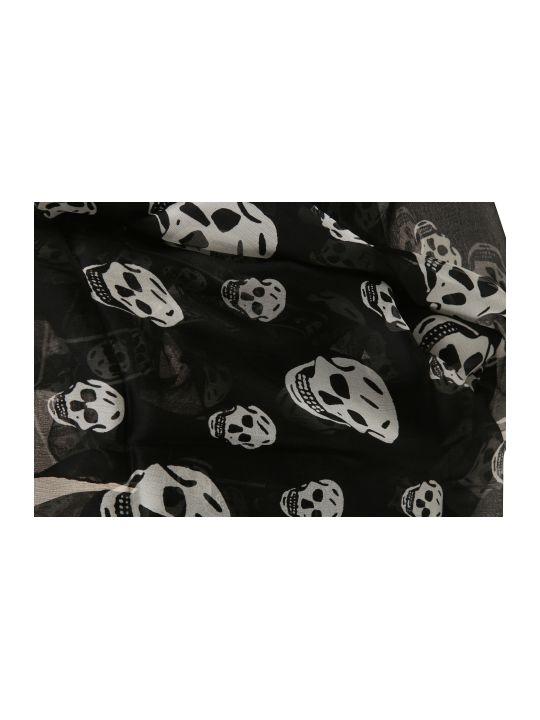 Alexander McQueen Fo Skull Scarf
