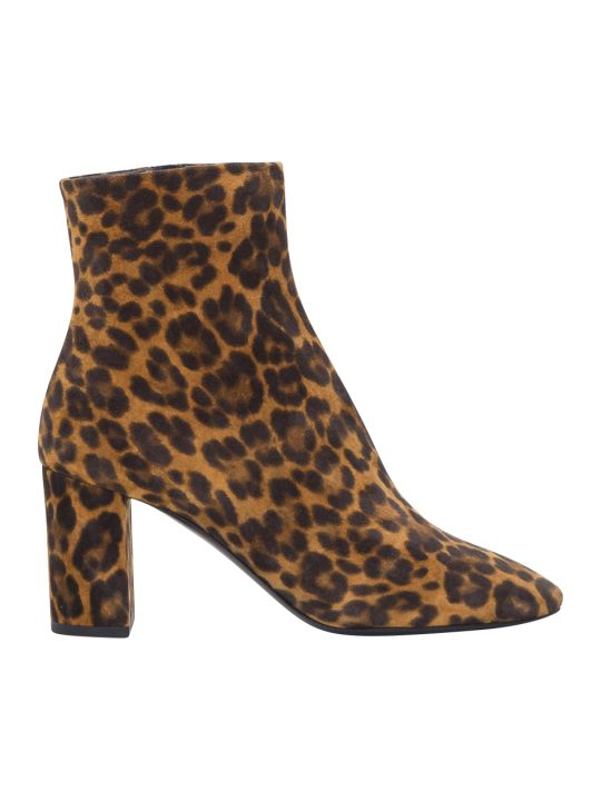 Saint Laurent Lou Ankle Boots
