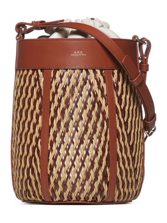 A.P.C. Braided Shoulder Bag