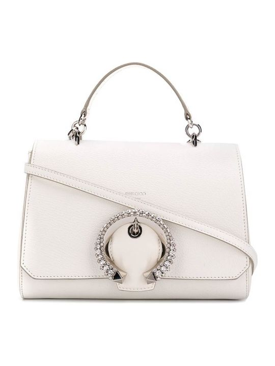Jimmy Choo Goat/crystal Buckle Bag