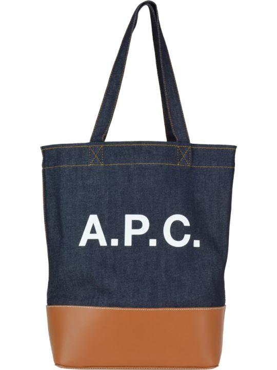 A.P.C. Axel Cabas Tote Bag